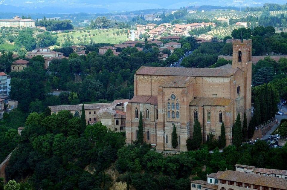 The church of San Domenico
